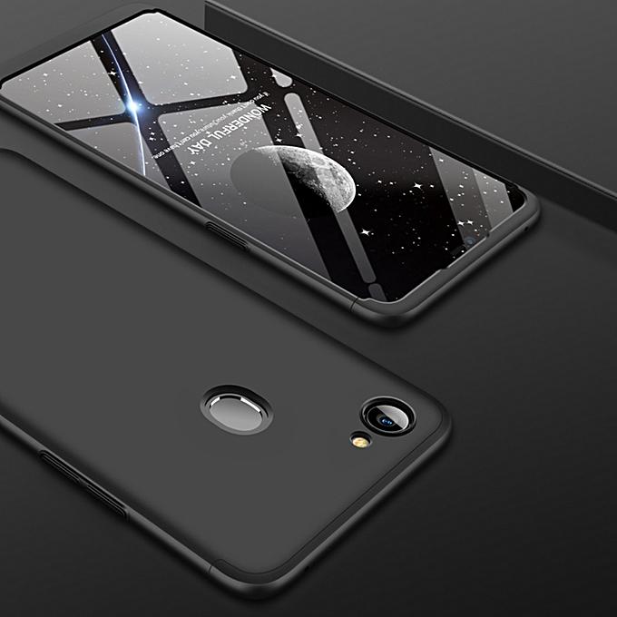 new style 41c5d 01960 GKK for OPPO F7 PC 360 Degrees Full Coverage Protective Case Back  Cover(Black)