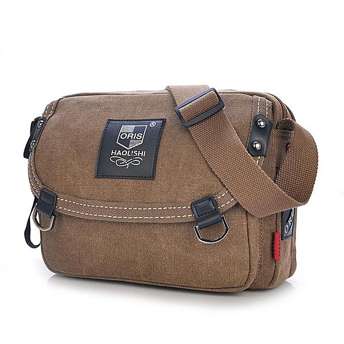 d8f3fe6303e87 Men s bag canvas small bag men s bag shoulder bag Messenger bag cross bag  men s small