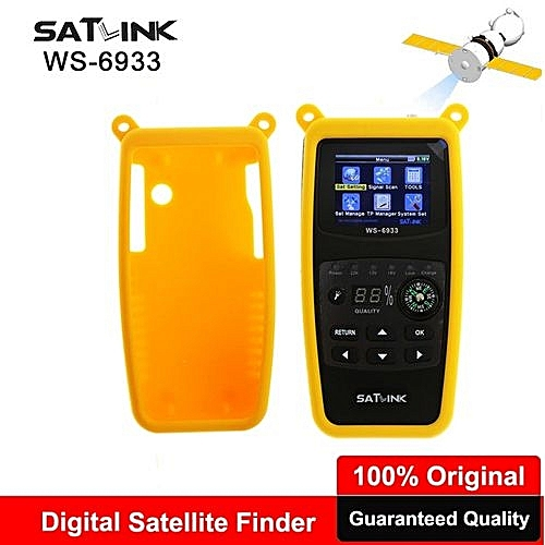 Satlink WS-6933 DVB-S2 FTA LNB Digital Satellite SatFinder Meter Satellite  Finder DVB S2 2 1 Inch LCD Sat Finder Satlink WS 6933