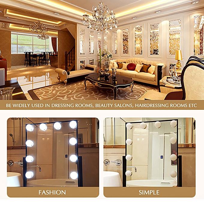 Buy Generic Vanity Mirror Led Light Bulbs Kit Usb Charging Port Diy