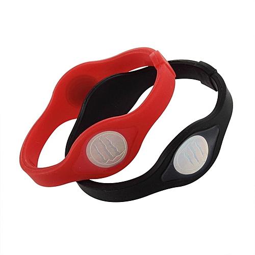 1 Pc Personality Wristband Energy Balance Silicone Bracelet