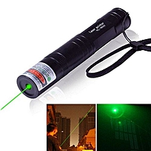 Laser Pointer Green Light Adjustable (Green)