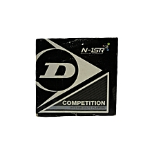 S/Ball Competition Yellow Dot Single: 700112: Dunlop