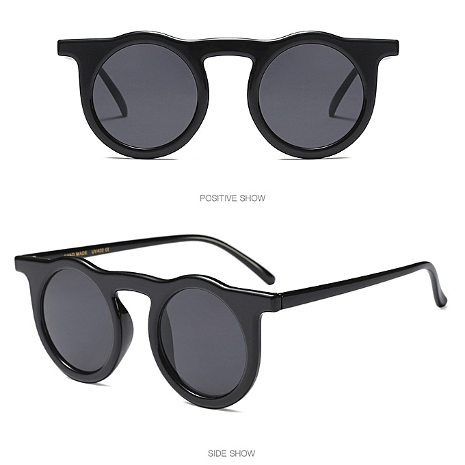 0b56b9d0d18 huskspo Women Vintage Round Frame Sunglasses Retro Eyewear Fashion Ladies  Man