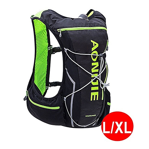 88653a4a7a Generic AONIJIE 5L Outdoor Backpack Marathon Vest Pockets Bag for Running  Rucksack Cycling Safety Gear With 2L Hydration Bladder(Style 4)