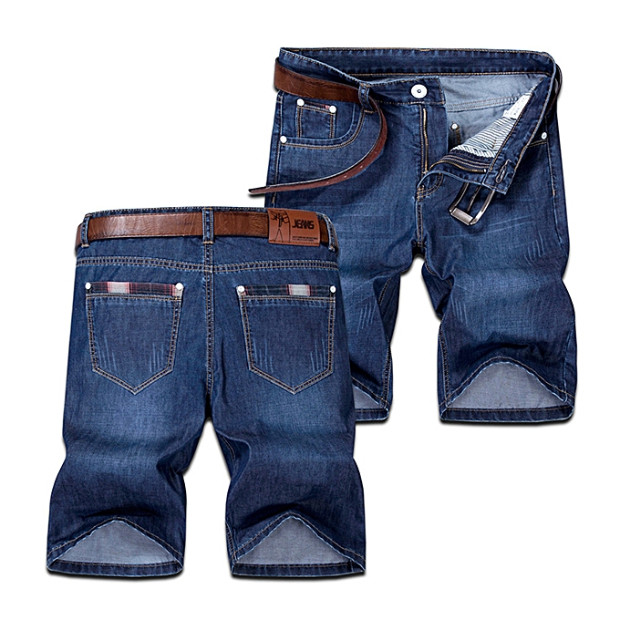Fashion Summer Straight Leg Knee Length Short Jeans For Men Best
