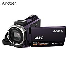 Andoer 4K 1080P 48MP WiFi Digital Video Camera Camcorder