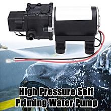 High Pressure Self Priming Water Pump 12V 100W Caravan Camping Boat