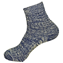 Men Spring Fall Winter Cotton Knitted Stockings Vintage Breathable Socks 5 Colors