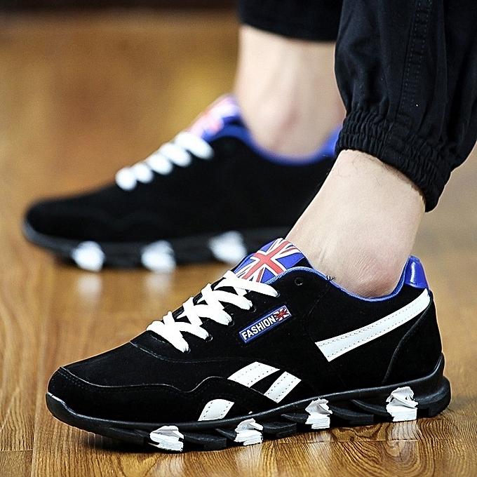 size 40 f2f23 b2108 UK Flag Print Men's Breathable Sport Shoes
