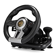 PXN V3II Racing Game Steering Wheel with Brake Pedal