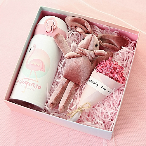 Generic Thermos Cup Gift BoxThe Birthday Girls Net Red Ins Walks The Young Girl Heart Of Super Fire Explode Peng To Send Gui Sweet Diy