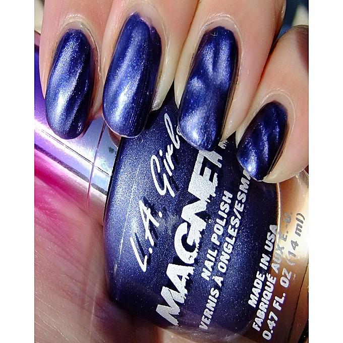 Buy L.A GIRL Magnetic Nail Polish - Electro Static @ Best Price ...
