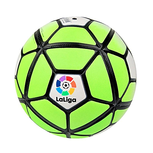 ac3830056025b Generic 2018 La Liga Official size 5 Football ball Seamless Anti-slip PU  Soccer Ball Professional competition train durable Football