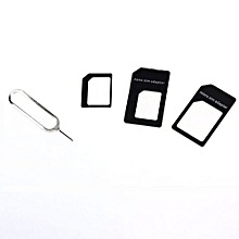 Convert Nano SIM Card To Micro Standard Adapter For IPhone 5