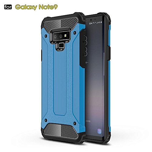 buy online 87210 0ce47 For Galaxy Note 9 Case Hybrid Durable Shield Armor Rugged Shockproof Back  Cover For Samsung Galaxy Note 9 Double Protect Case