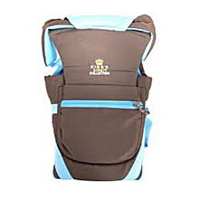 Baby Carrier - Blue & Brown