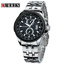 Curren Watch Men Fashion Casual Dress Wristwatch Curren 8082 Date Display Analog Relojes