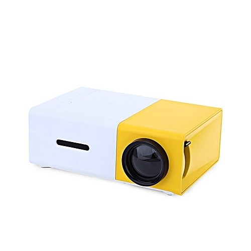 Yg310 Lcd Projector 600lm 320 X 240 1080p Mini Portable Hd: LCD Projector 400-600LM 320*240 Home Media Player