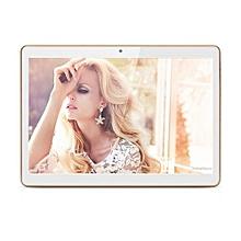 10 Inch HD Dual SIM Camera 3G Quad Core Tablet PC Android 4.4 1Gb+16GB Bluetooth-Gold
