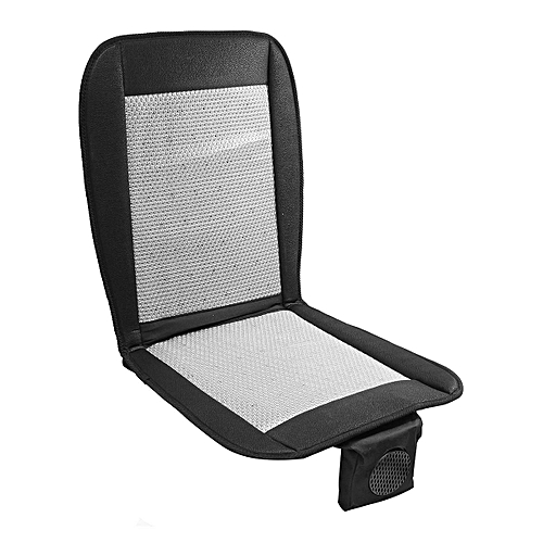 12V Cooling Car Seat Cushion Cover W Air Ventilated Fan Conditioned Cooler Pad