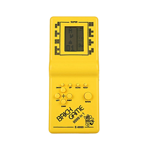 Classic Tetris Hand Held LCD Electronic Game Toy Fun Brick Game Riddle Toys