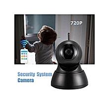 AU Mini Wireless 720P Security Network CCTV IP Camera Night Vision WIFI Webcam Home Black
