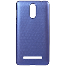 LEAGOO M8 / M8 Pro OCUBE Hard Protective Case Phone Cover  Metallic Paint Coating Mobile Shell -Blue