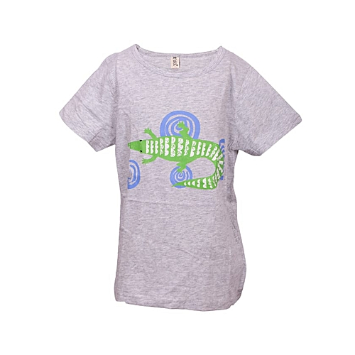 b6e2ba8b Generic Baby Boys Printed Gecko Short Sleeve Cotton T-shirt @ Best ...