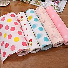 300cm Japanese Style Drawer Antibacterial Moisture Mat Pad Household Table Mats Wallpaper L