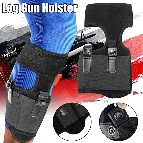 Concealed Carry Ankle G*n Holster Unisex Leg Right Leg For LCP 380 LCP LC9  9mm