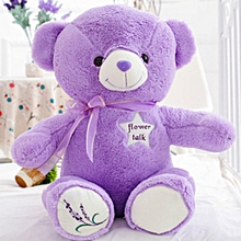 Lavender Teddy Scent 42cm Seated Height Happy Birthday Or Girlfriend Gift Plush Bear Toy(Color:Purple)