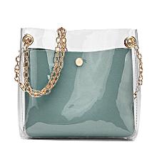 huskspo Women Fashion Solid Shoulder Bag Messenger Bag Crossbody Bag Phone  Coin Bag - Blue 664179993246b