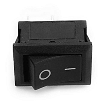 10pcs 220V 10A Power Rocker Switch 2 Pin CE Certification