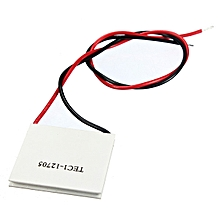 3pcs TEC1-12705 Heat Sink Thermoelectric Cooler Cooling Peltier Plate Module 40 x 40mm