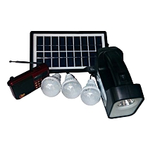 Rechargeable LED Lighting System-Black