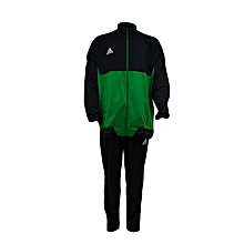 T/Suit Tiro 17 Pes/Trg Men- Bq2599/Bk0348black/Green- L