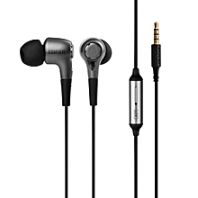 Edifier P230 High Performance Mobile Phone In-Ear Headphones with Answering Call Function (Black) SWI-MALL
