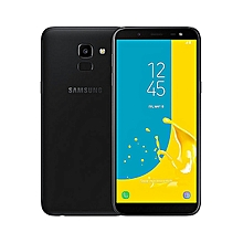 "Galaxy J6  5.6"" ,3GB+32GB ROM),13MP + 8MP Dual SIM 4G  - BLACK"