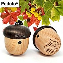 Enjoy Mini Bluetooth Speaker Wireless Portable Speakers Cute Nut Unique Design Gift Built-in Mic Handsfree Phone Call