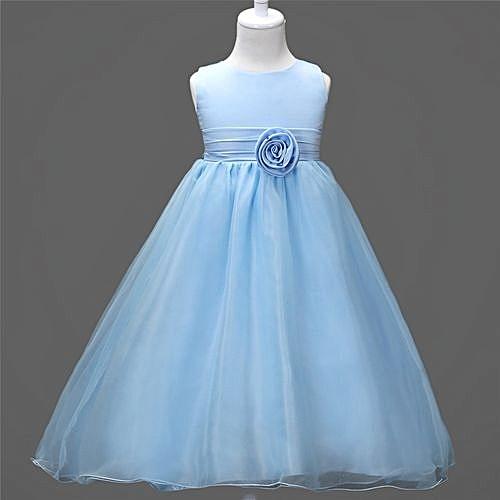 Buy Yingwoo Comfortable Children Dress Flower Girl Dress Princess ...