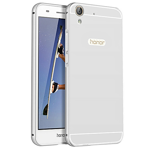 cheap for discount 9a272 27486 Ultra Thin Aluminum Metal+ PC Back Cover Case For Huawei Honor 5A(Color:c4)