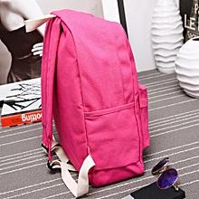 c4234ae361 jiuhap store Women Girls Canvas Preppy Shoulder Bookbags School Travel Backpack  Bag-Hot Pink