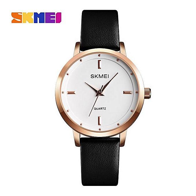 b4d29a5a4427f SKMEI Brand High Quality Women Watches Luxury Leather Woman Watch 2018  Montre Femme Fashion Quartz Wrist