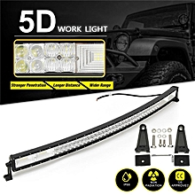 """5D 50"""" Inch 1560W LED Work Light Bar Flood Spot Combo Offroad Lamp Car Truck"""