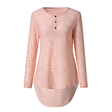 Featured Blouse Women Spring Autumn Casual Design Buttons Long Sleeve T-Shirt Top Blouse