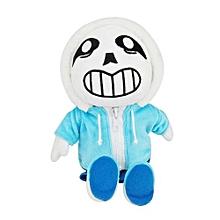 Undertale Plush Asriel 30cm Skull Stuffed Doll For Kids -Blue