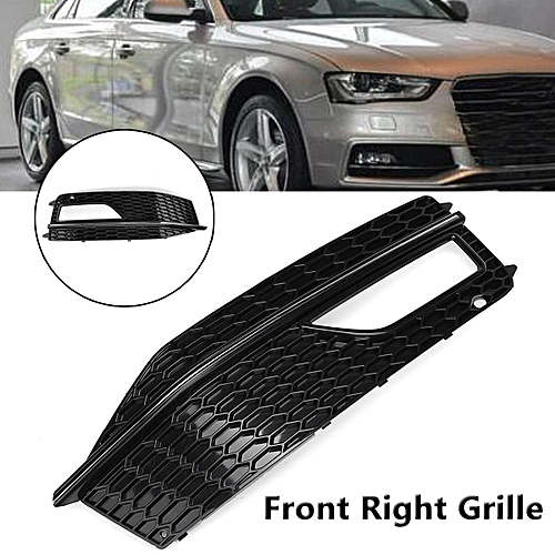 Right Bumper Fog Light Grille Cover For Audi A4 B8 S4 S Line Facelift 12 15