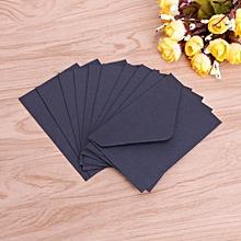 20pcs Black White Craft Paper Envelopes Vintage Envelope For Card Scrapbooking Letter Stationary Storage Paper Gift