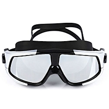Fashion Anti-fogging UV Swim Goggles Glasses With Big Frame_#6
